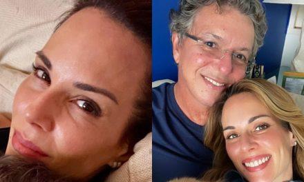 """Ana Furtado compartilha momento raro de intimidade com Boninho e se derrete pelo marido: """"Dengo e cafuné"""""""