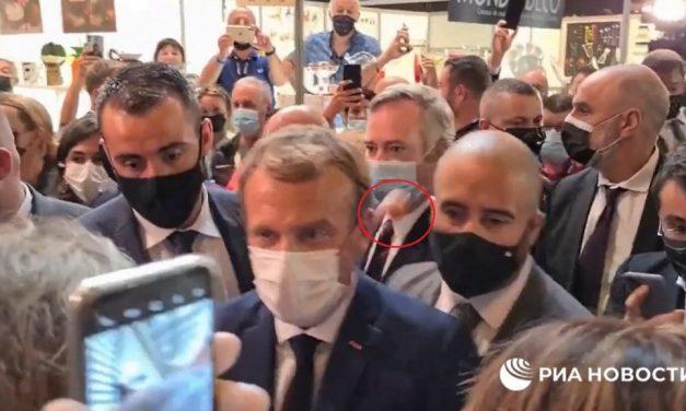 Jovem é internado em clínica psiquiátrica após jogar ovo em Macron