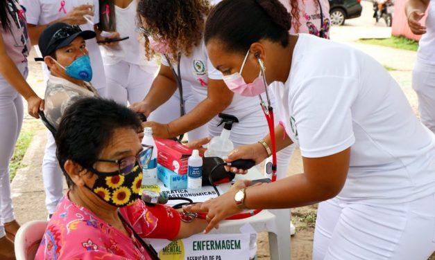 Moradores de Marituba recebem ação social voltada para os cuidados da saúde mental