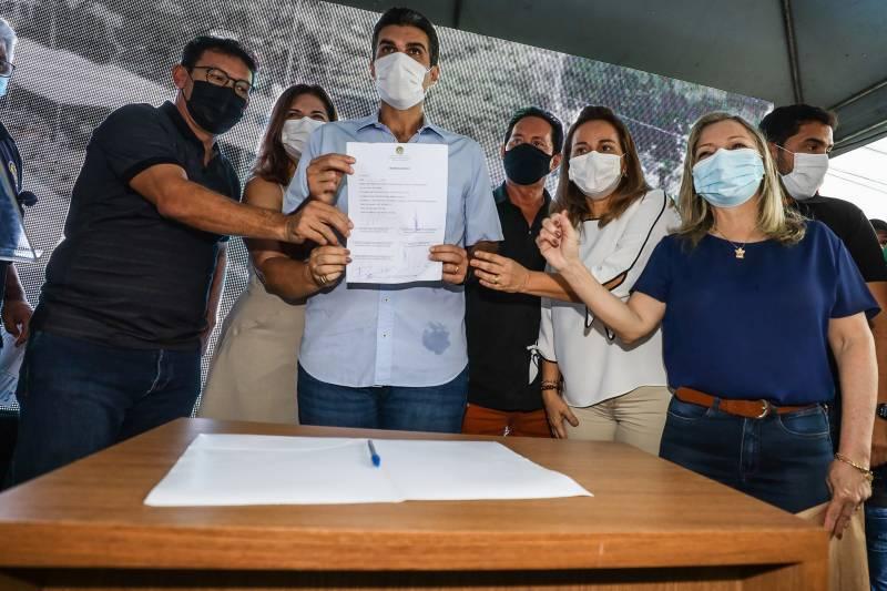 Governo autoriza reconstrução de escola tradicional e obra do abatedouro de frango em Barcarena