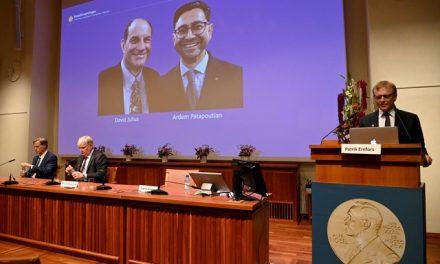 Nobel de Medicina premia dupla por descobertas sobre temperatura e toque
