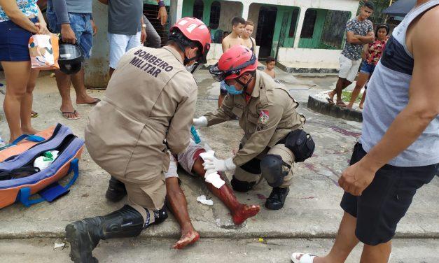 Acidente deixa duas pessoas feridas no Trevo em Bragança