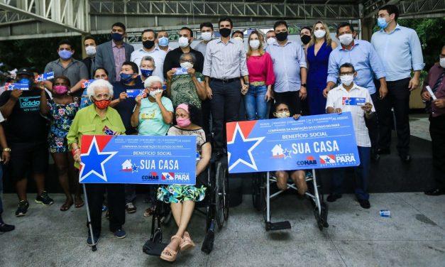 Benefício do 'Sua Casa' é entregue para 60 famílias de Brejo Grande do Araguaia
