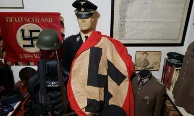 Polícia acha vasta coleção nazista ao prender suspeito de estuprar menor