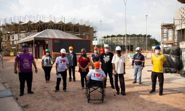 Residentes do Abrigo João Paulo II conhecem estrutura da Usina da Paz em Marituba