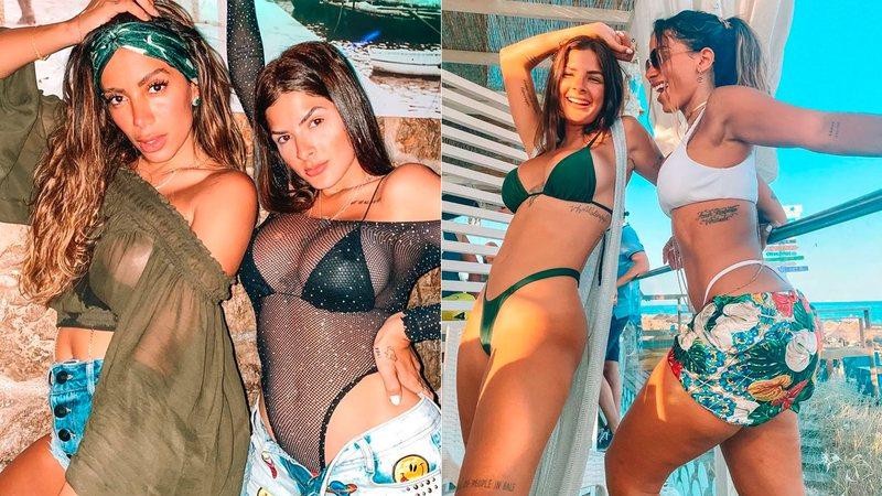 Anitta e Lary Bottino terminaram amizade por causa de segredo sexual, diz colunista