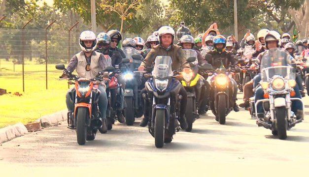 TCU compartilha com TSE apuração sobre gastos com passeios de moto de Bolsonaro