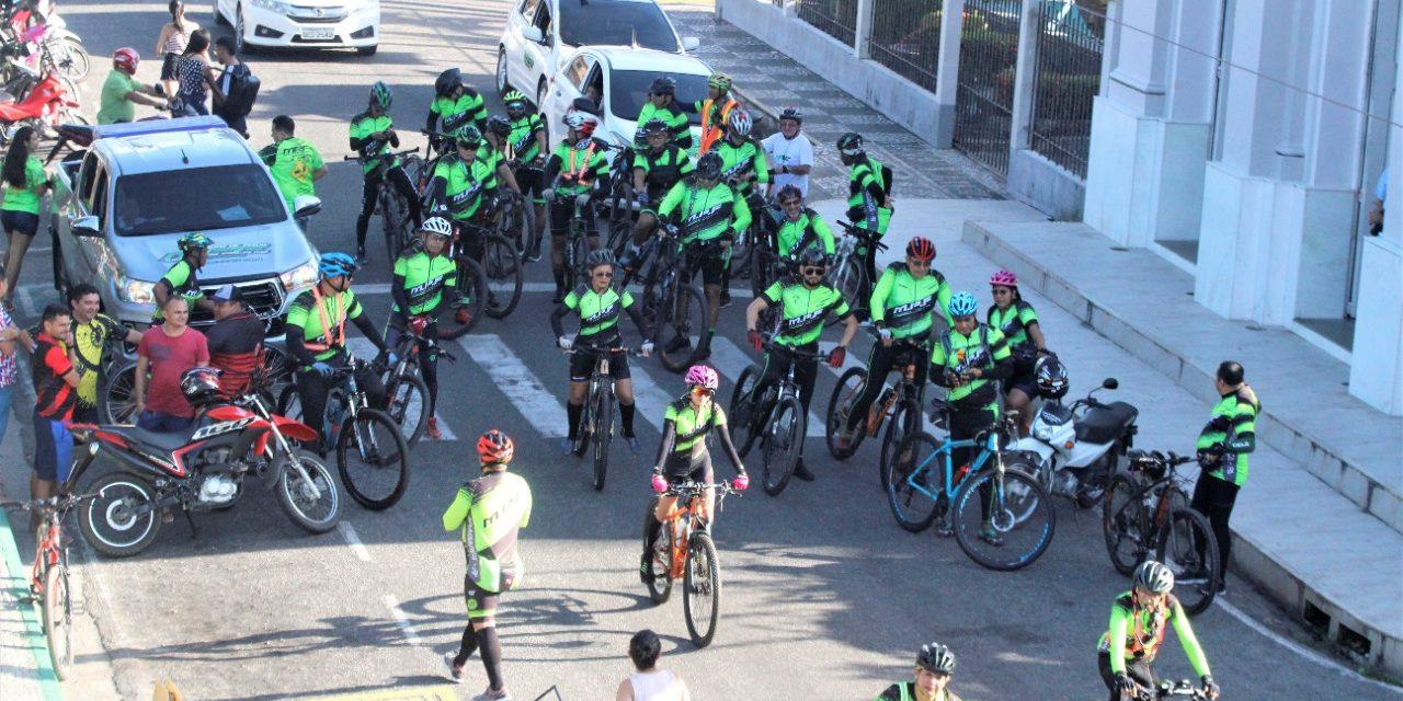 Ciclistas e motociclistas seguem de Bragança para a Basílica