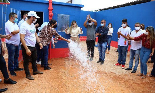 Moradores do bairro Santa Lúcia I recebem micro sistema de abastecimento de àgua