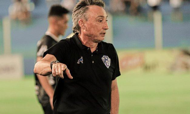 """Em jogo marcado pela volta da Fiel, Fonseca cita desempenho do Paysandu: """"Ficamos devendo"""""""