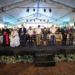 Celebração reúne lideranças religiosas no fechamento do hospital de campanha do Hangar