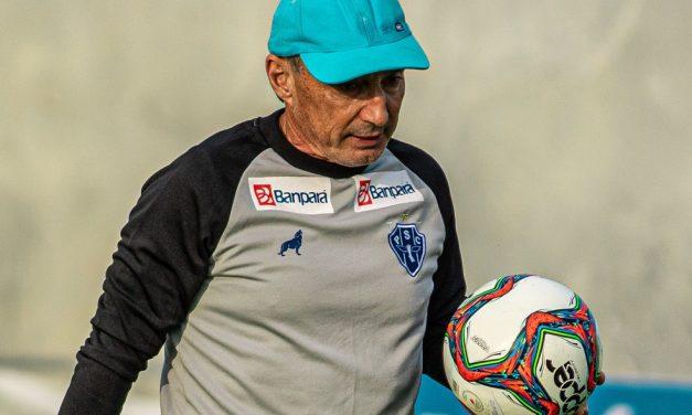 Não resistiu! Sem vencer no quadrangular da Série C, Roberto Fonseca deixa o Paysandu