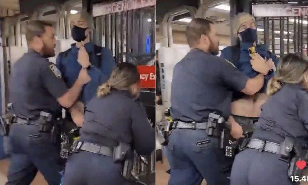 Jovem é expulso do metrô de Nova York ao pedir que policiais coloquem máscaras