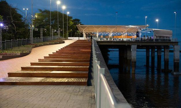 Orla Taumanan, em Boa Vista, é reinaugurada quase dois anos após interdição
