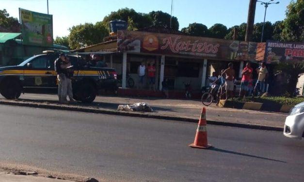 Condutor atinge e mata motociclista na BR-316, em Castanhal