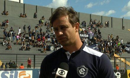 Conceição admite possibilidade em mudar estilo de jogo do Remo após nova derrota na Série B